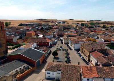 Vista de Villaherreros durante la II Quedada Motera en 2019. / Foto: Miguel Ángel Delgado