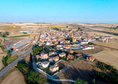 Vista de Villaherreros desde San Millán. / Foto: Miguel Ángel Delgado