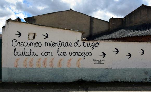 Mural Triticum in Aere AJ Sin Fronteras