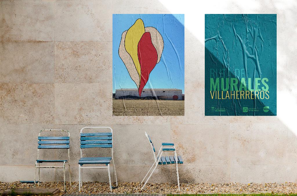 Villaherreros desarrolla su Ruta de Murales, un lienzo gigante al aire libre