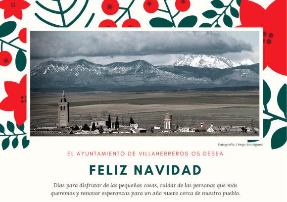 Feliz Navidad Ayuntamiento de Villaherreros