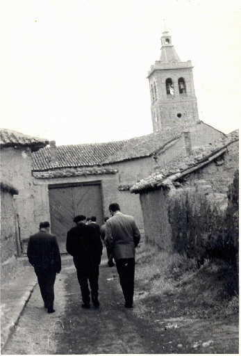 Vista de la torre de la iglesia de San Román. / Foto cedida por: Jesús González