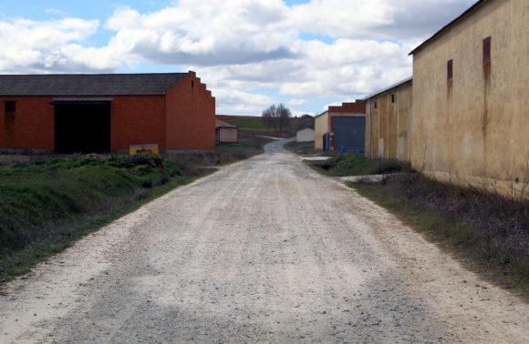 Camino bodegas San Pedro Villaherreros