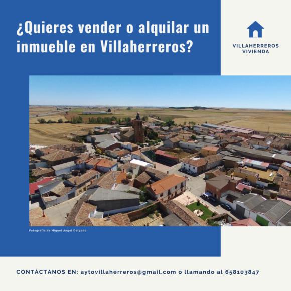 Oferta de inmuebles y terrenos en Villaherreros